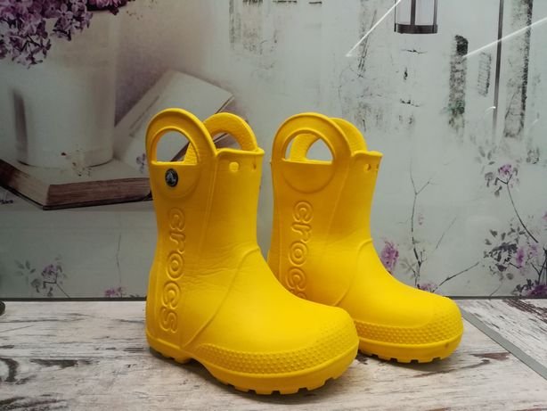 Сапожки Crocs C8