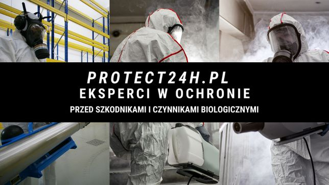 PROTECT24H.PL-Dezynfekcja, Ozonowanie - Certyfikowana Firma DDD - SARS