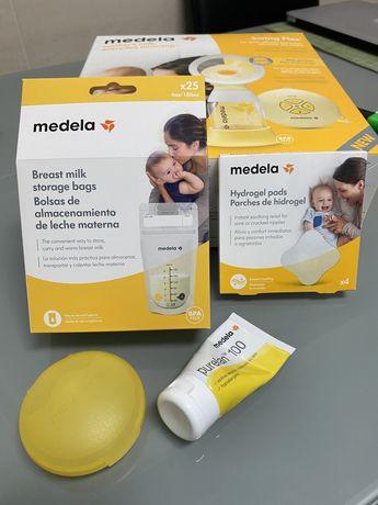 Extrator de leite eletrico Medela Swing Flex ofereço sacos, hidrogel