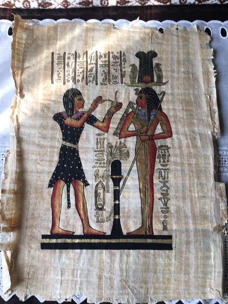 Papirus przywieziony z Egiptu