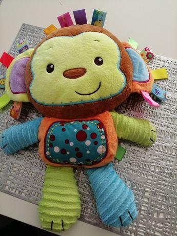 Duża małpka z metkami
