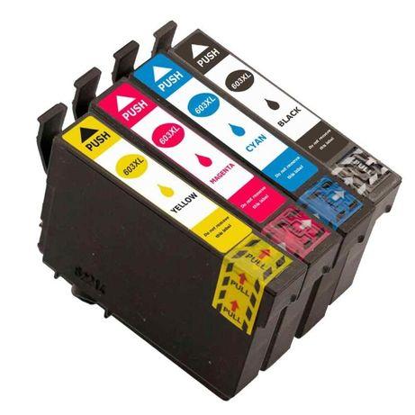 Pack de 4 Tinteiros compativeis EPSON 603XL PORTES GRATIS