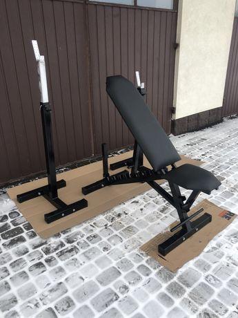 Ławka regulowana do ćwiczeń siłownia