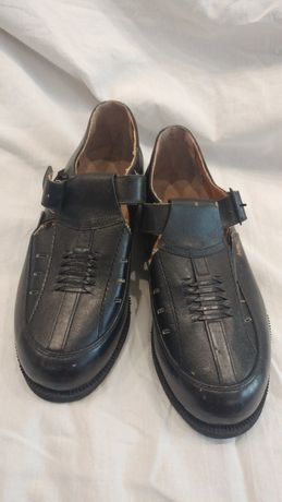 Туфли школьные для мальчика ,кожа.