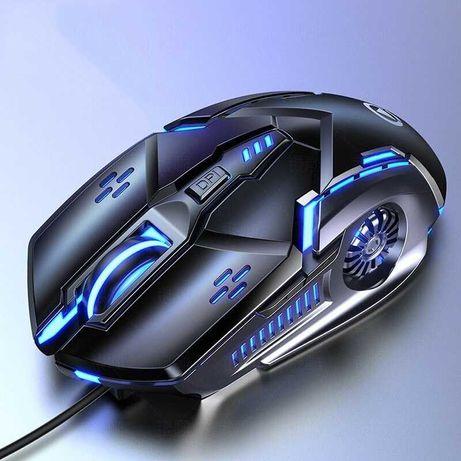 Бесшумная игровая мышь G5 6D 4 скорости DPI RGB