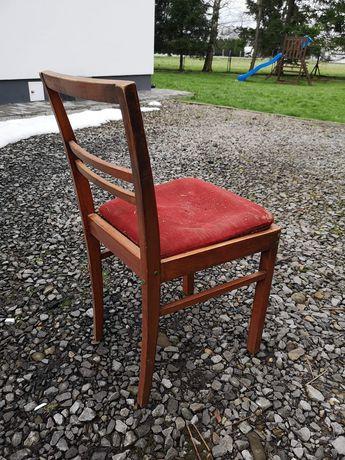 5 krzeseł drewnianych do renowacji