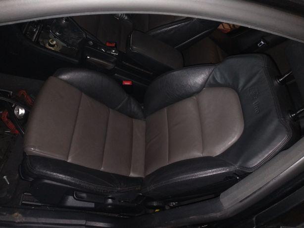 A4 B6 B7 fotele s line skóra sedan.