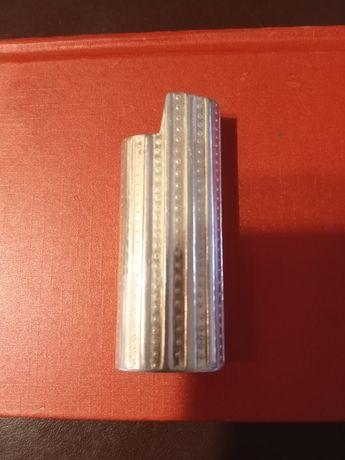 Capa de isqueiro prata