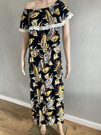 Suknia maxi rozmiar L