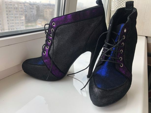 Нарядные ботильоны туфли Mia May