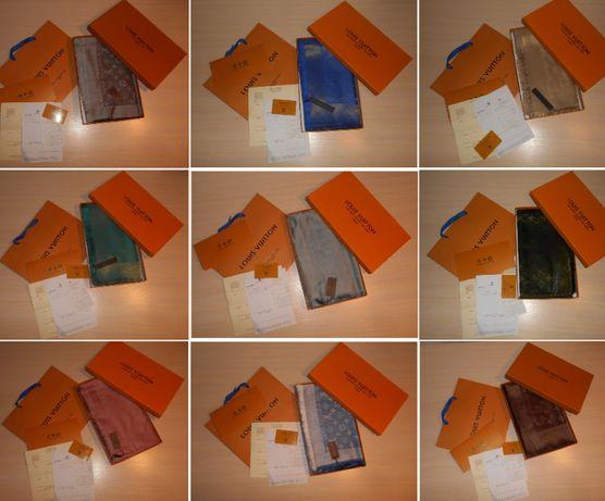 Платок Шарф, палантин, шаль в коробке Louis Vuitton, Франция оригинал