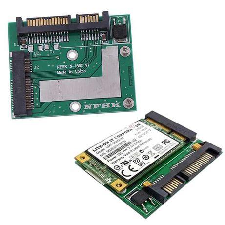 msata to sata переходник mSATA Mini PCIE SSD to SATA