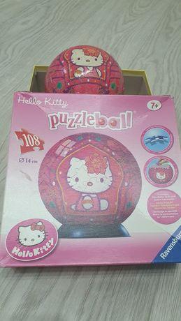 Puzzle przestrzenne Hello Kitty