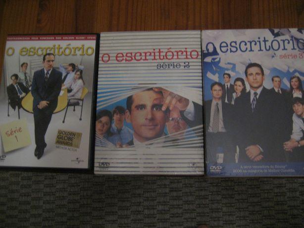 Séries The Office (T1,T2,T3), Prison Break (T1,T2), Big Love (T1), etc