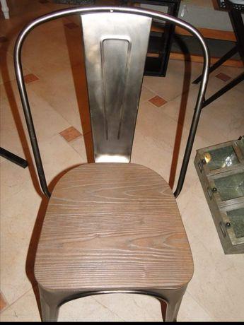 Krzesło stylowe  metal