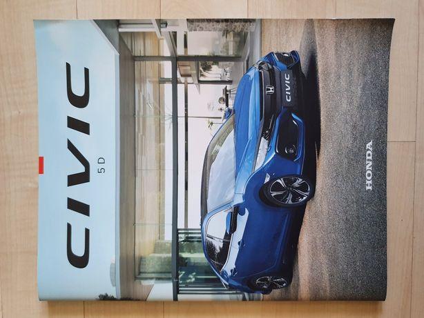 Honda Civic 5D folder broszura informacje prospekt