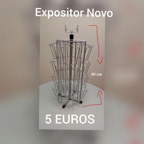Expositor NOVO por APENAS 5 EUROS em BEJA