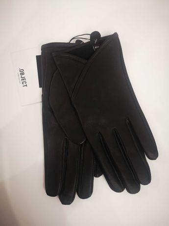 NOWE rękawiczki zimowe z delikatnej owczej skóry!! Unikalne!!