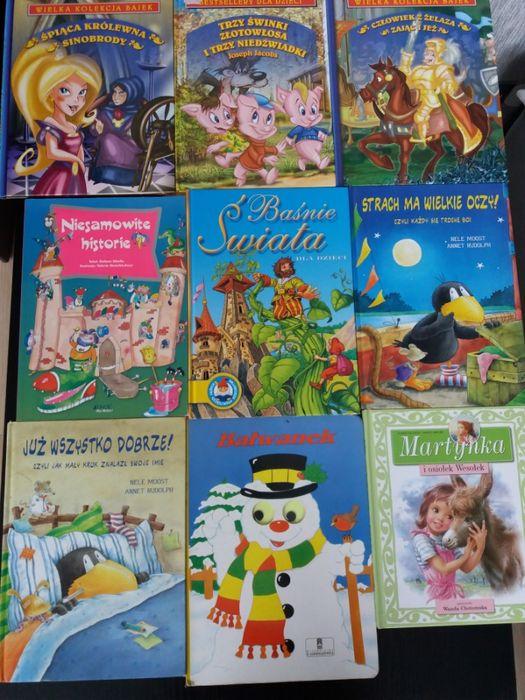 Książki dla dzieci baśnie, opowiadania, Martynka 9 szt Kłodzko - image 1