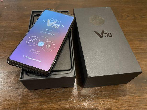 Новий lg v30 +4/128 gb чорний ( оригінал ) Snapdragon 835