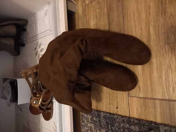 Buty botki na koturnie r.41 Graceland