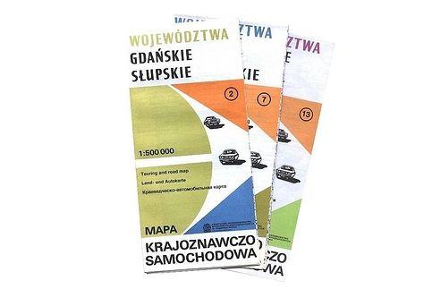 Mapa krajoznawczo samochodowa Polski 1 : 500 000