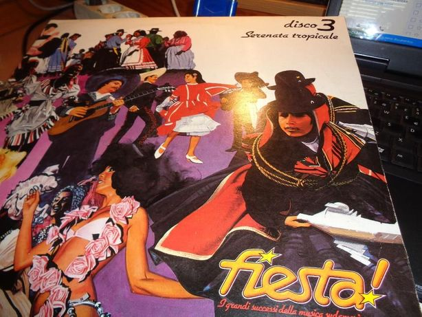 Disco LP Fiesta Serenata Tropicale Disco 3 usado