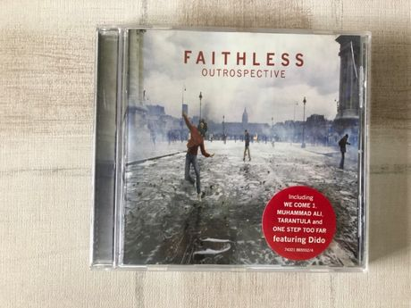 Faithless - Outrospective - CD Album - 2001 - 12 Faixas