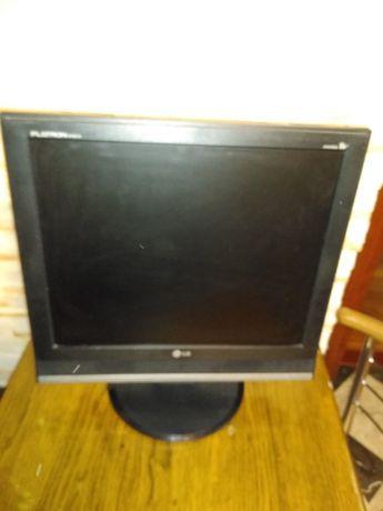Monitor z funkcją TV LG Flatron + dekoder DVBT 19 cali