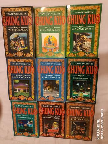 Chung Kuo komplet 9 tomów 5 ksiąg David Wingrove