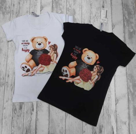 Bluzeczki damskie dostępne w rozmiarze od S do XL
