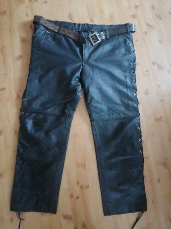 Spodnie ze skóry 5xl