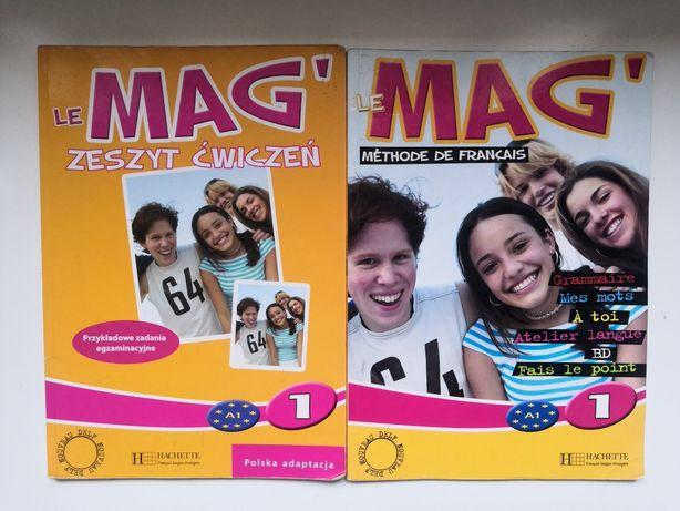 Le Mag 1 podręcznik i ćwiczenia Hachette