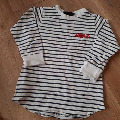 Long bluzka minikid r 98/104 REZERWACJA do poniedziałku tj. 01.03.2021