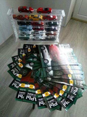 Коллекция из первых выпусков суперкаров 2011г.
