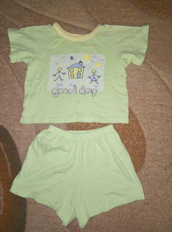 Пижама 98-104 3-4 года футболка шорты