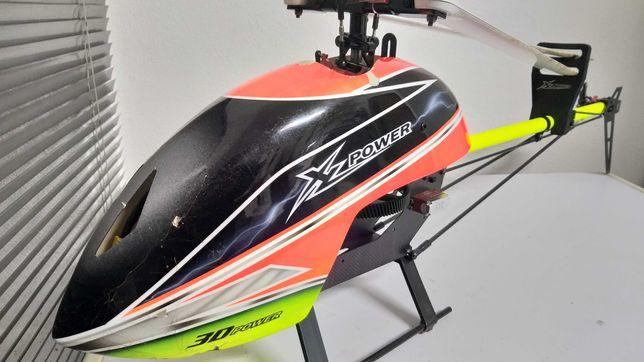 Heli Rc XLpower 520 com Extras