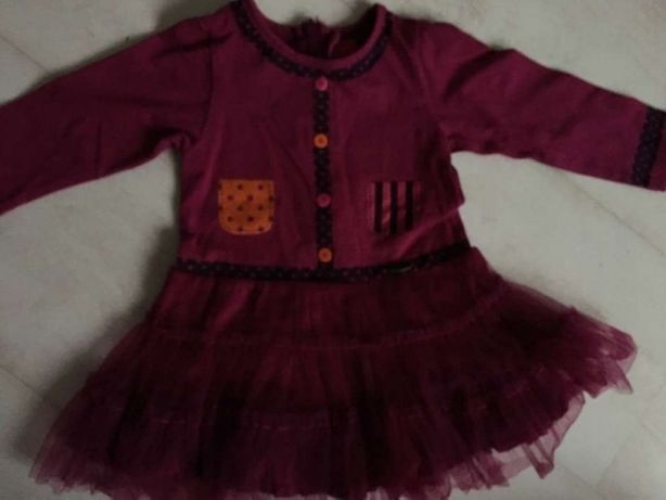 Sukienka marki Marese r. 74cm (12mc)