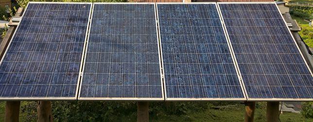 Panele fotowoltaiczne 220W 4 szt canadian solar