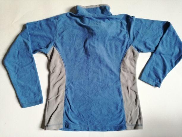 polar cienka bluza polarowa niebieska narciarska rozmiar L - nowa