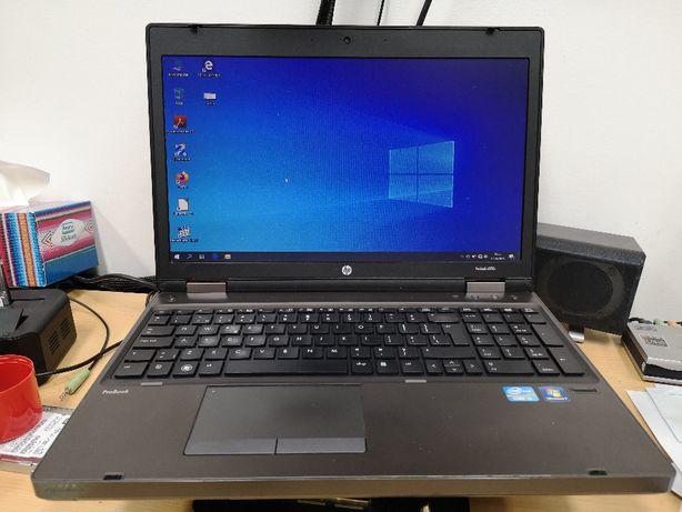 """Laptop HP Probook 6570b i3-3110M 2x2,4 GHz 8GB SSD 256GB 15,6"""" Win 10"""
