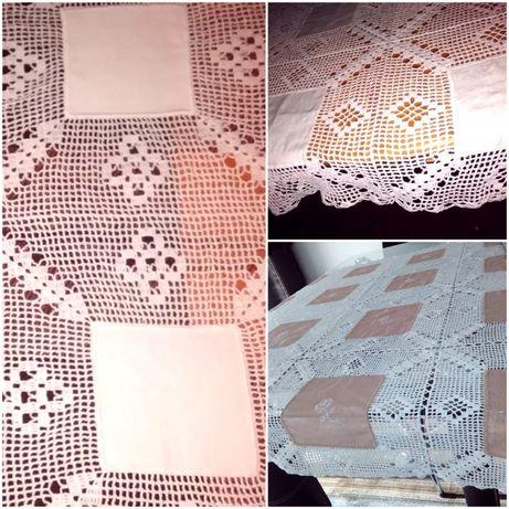 Toalhas de crochet, feitas à mão. Novas!!!