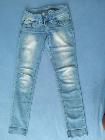 Spodnie damskie jeansowe
