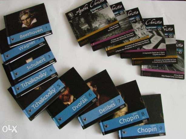 Música Clássica (Beethoven Chopin Tchaikovsky) + Contos Agtha Christie