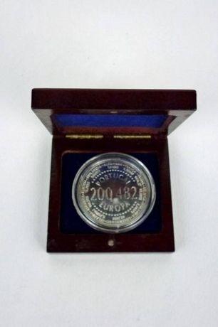 Moeda Prata Europa 200,482