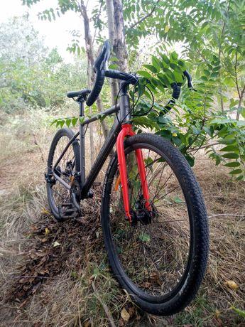 Велосипед Crosser Nord (LTWOO R2, 2x7, 19 рама, 28' 40с)
