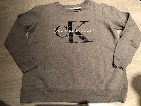 Calvin Klein Jeans szara bluza rozm. XS