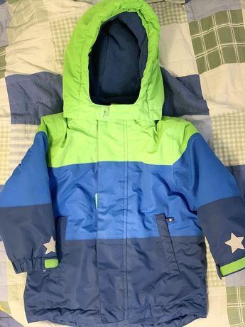 Kurtka i spodnie zimowe, komplet narciarski
