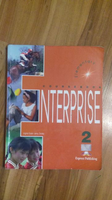Coursebook - Enterprise 2, Express Publishing, język angielski