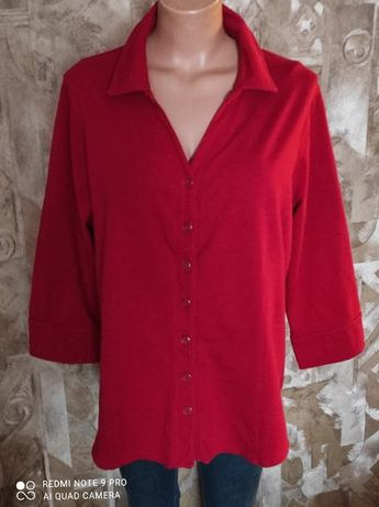Трикотажная рубашка р.56-58